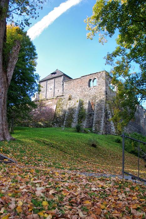 cheb - hrad - podzim