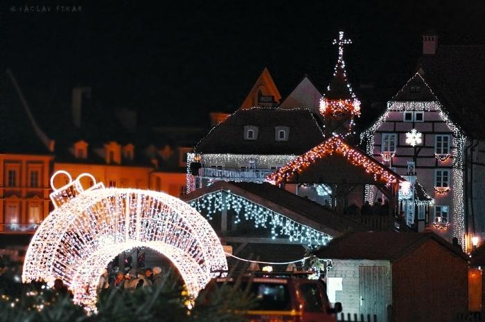 Vánoční trhy v Chebu 2