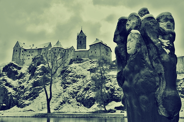 hrad loket - zima cb