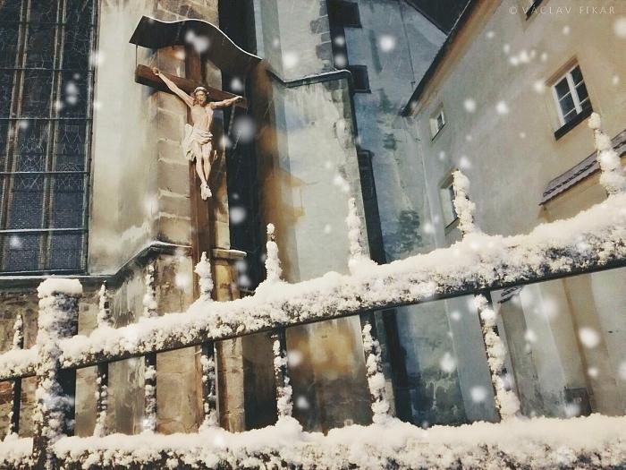 Zima a Ježíš