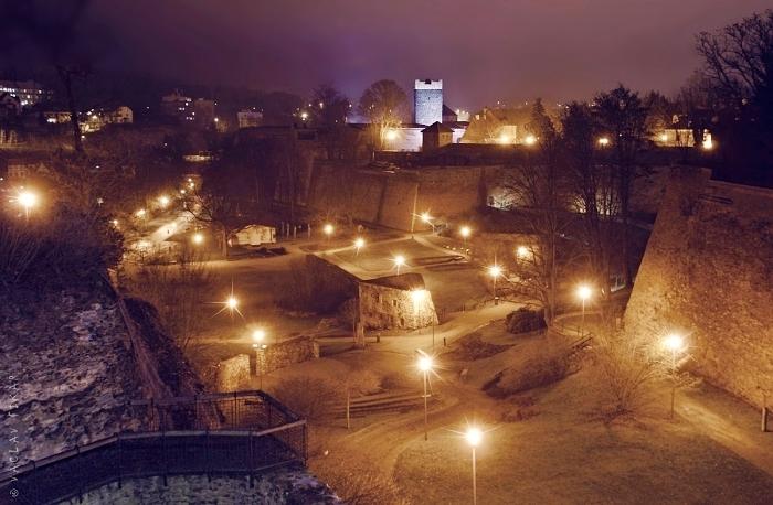 Krajinka pod Chebským hradem