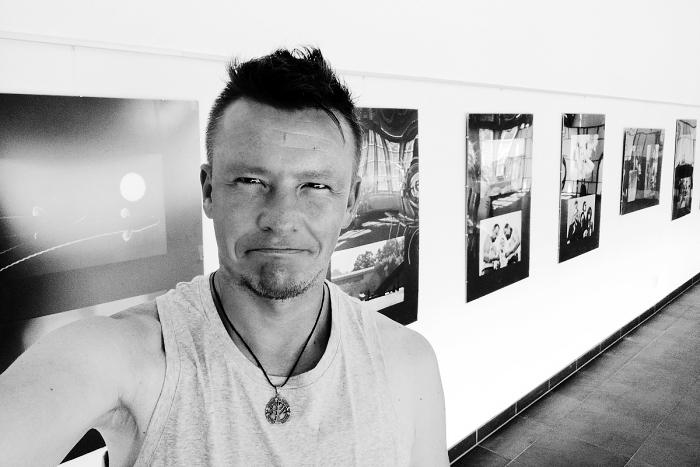Takové normální selfíčko z výstavy vlastních fotek v Ostrově