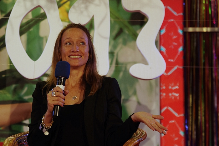 Céline Cousteau. Foto Václav Fikar