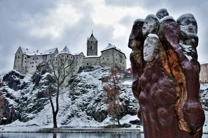zimu vůbec nemusím - hrad v zimě